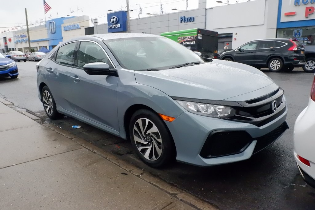 Pre Owned 2017 Honda Civic Lx 4d Hatchback In Brooklyn Uh4639